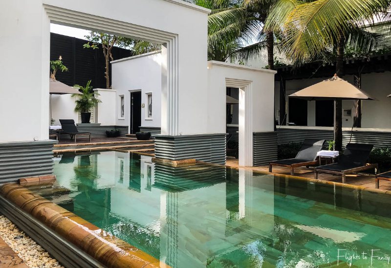 swimming pool at Park Hyatt Siem Reap