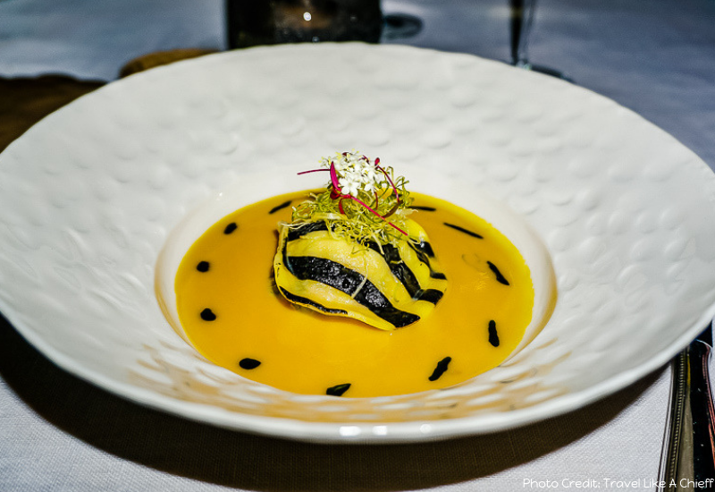Best Places To Eat In Ubud: Kubu Lobster Ravioli