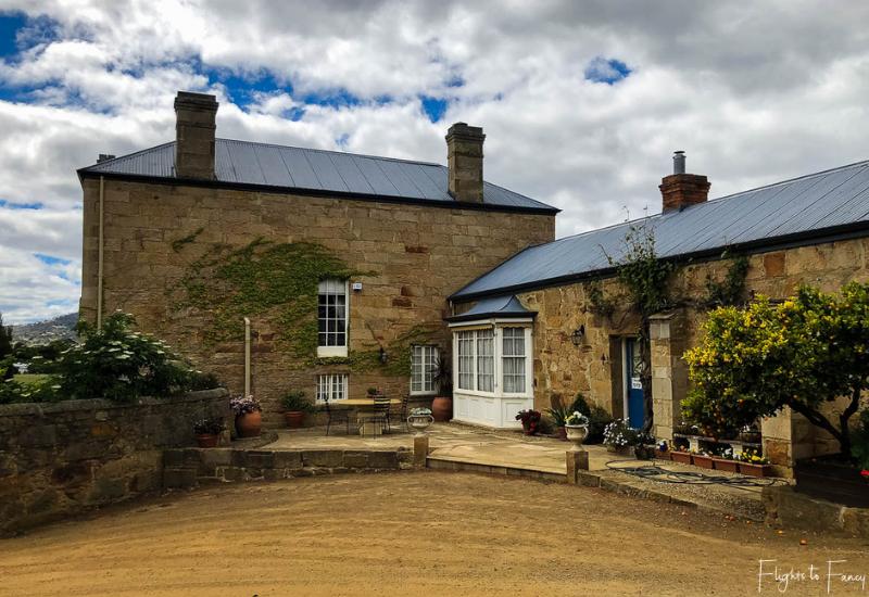 Best Wineries Tasmania: Pooley Wines Owners Residence