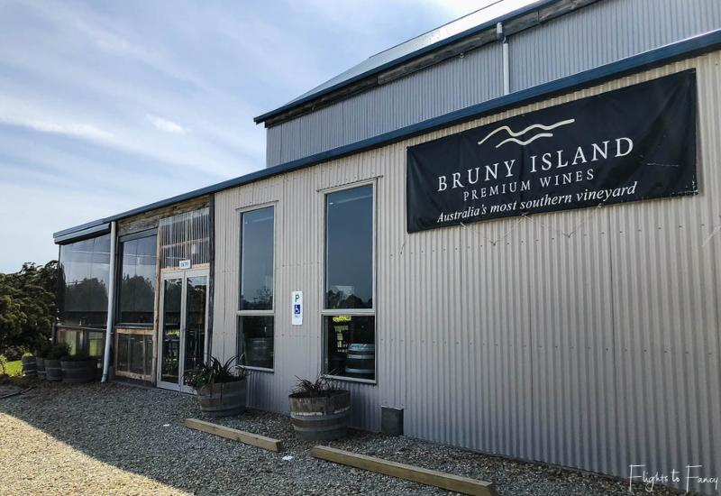 Bruny Island Premium Wines Cellar Door