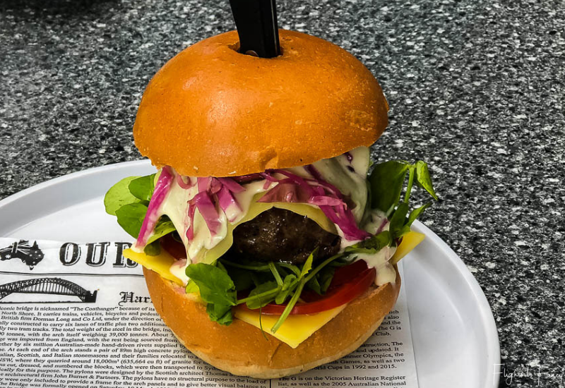 Burger For Lunch @ Bruny Island Premium Wines