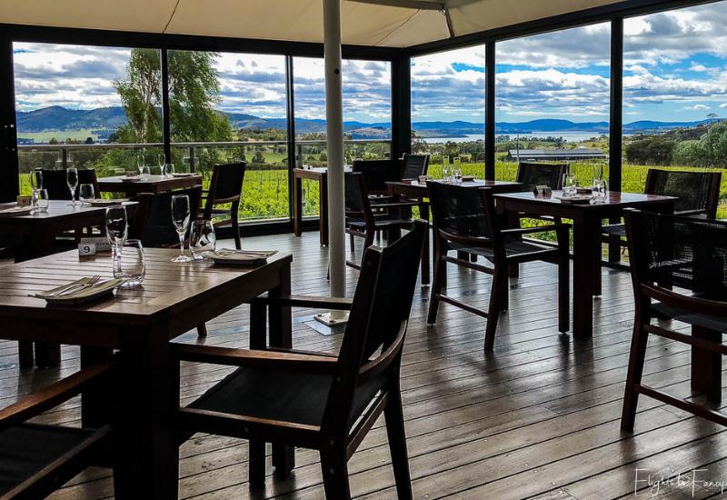 Wineries Near Hobart: Frogmore Creek Winery Restaurant