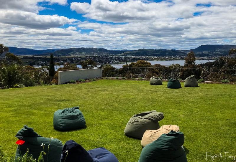 Wineries Near Hobart: Stefano Lubiana Wines Lawn