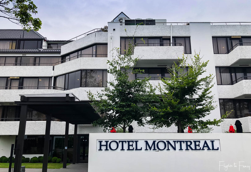 Hotel Montreal Christchurch Exterior