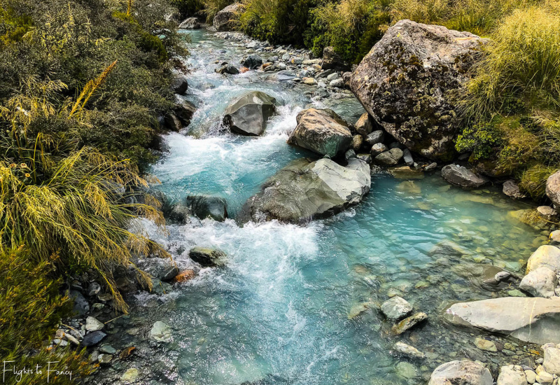 Mount Cook Walks: Hooker River