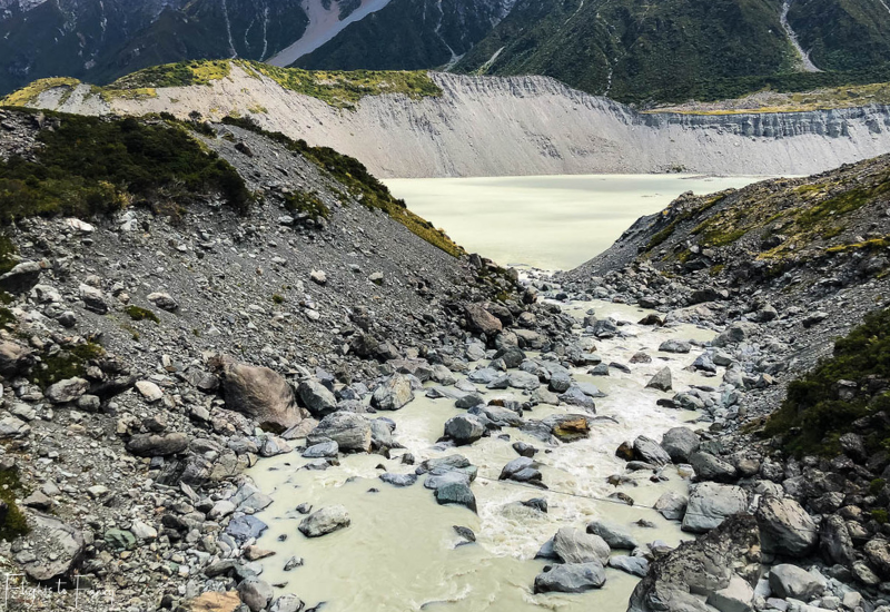 Mount Cook Walks: Hooker River & Mueller Lake from the Hooker Valley Track