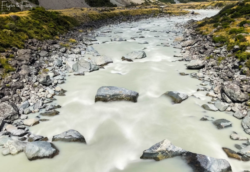 Mount Cook Walks: Hooker River Rapids