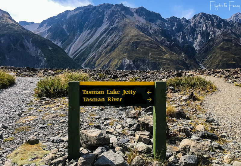Mount Cook Walks: Junction Tasman Lake & Tasman River Walk