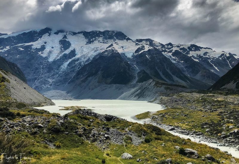 Mount Cook Walks: Mueller Lake Hooker Valley Track