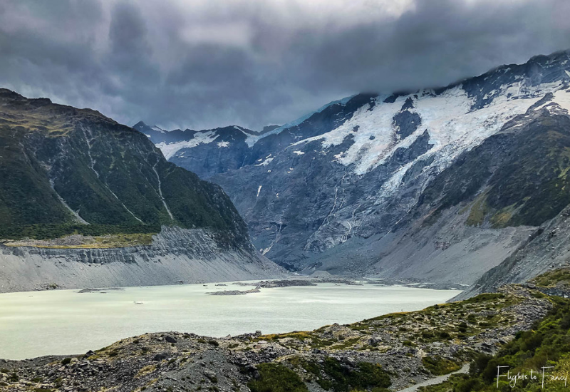 Mount Cook Walks: Mueller Lake Mount Cook Aoraki National Park