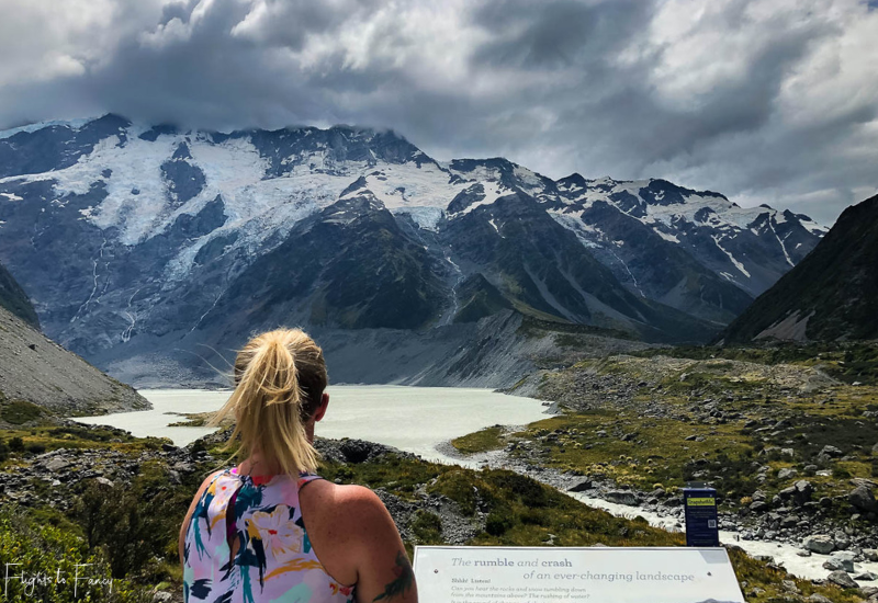 Mount Cook Walks: Mueller Lake and Mount Cook Hooker Valley Track