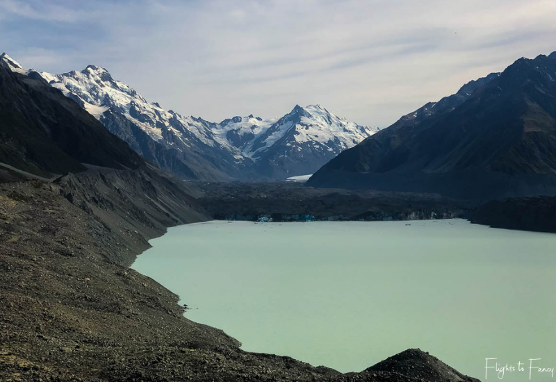 Mount Cook Walks: Tasman Lake