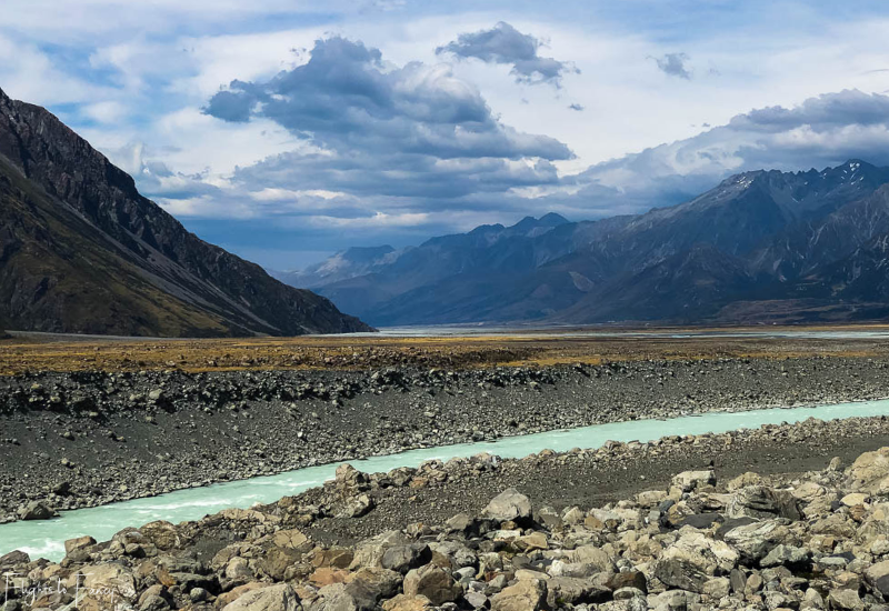 Mount Cook Walks: Tasman River
