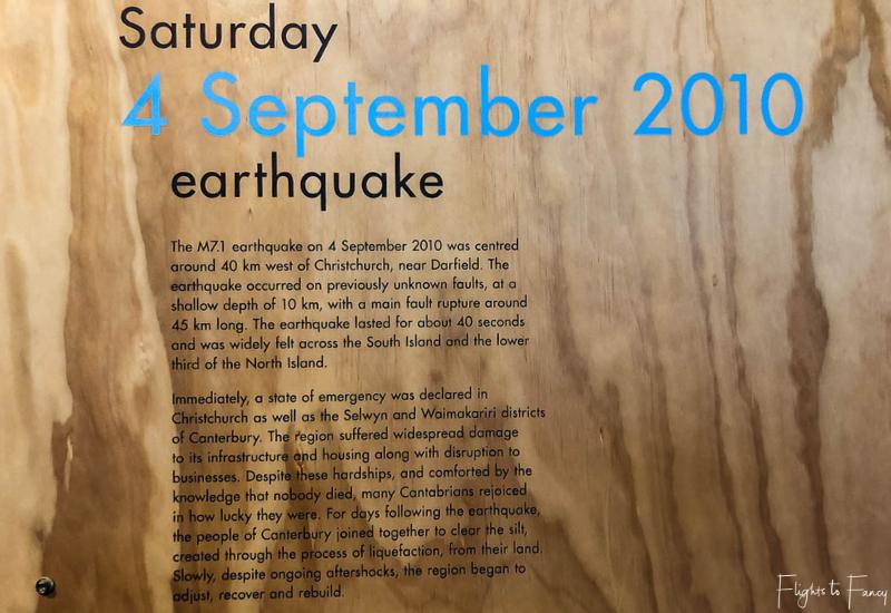 Quake City Christchurch