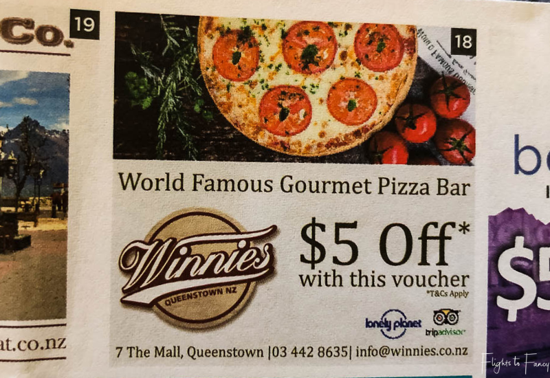 Winnies Queenstown $5 Off Voucher