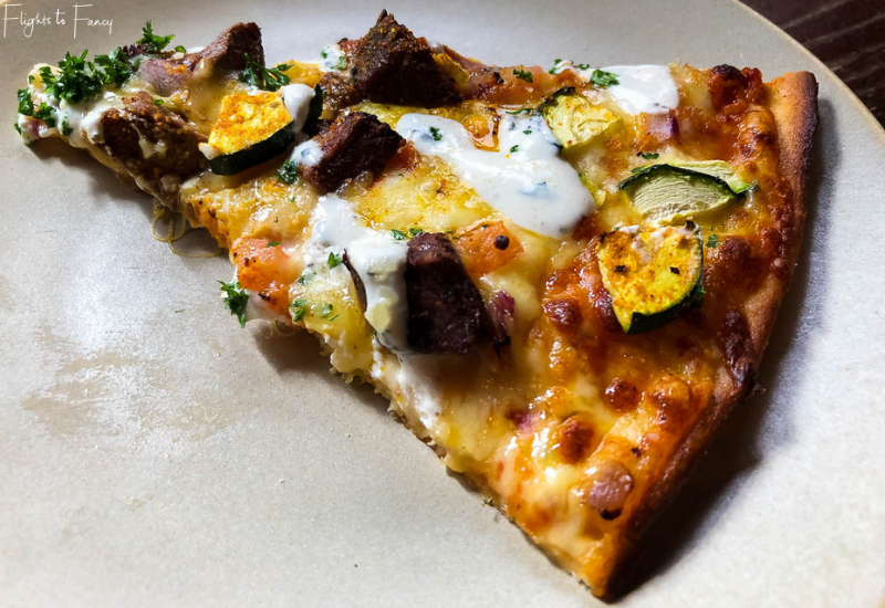 Winnies Queenstown Moroccan Lamb Pizza Slice