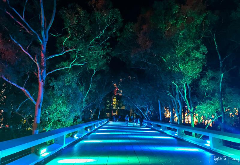 Canberra Enlighten - 2018 Illuminated Pathway