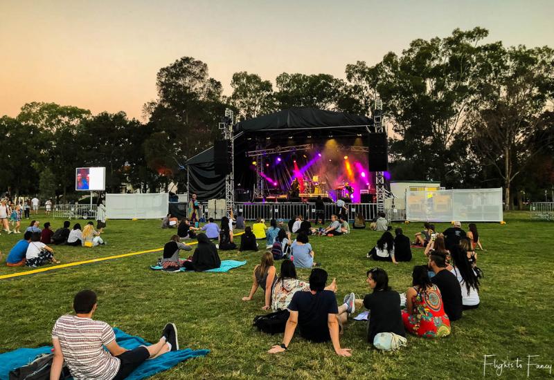 Canberra Enlighten - Live Music At Sunset