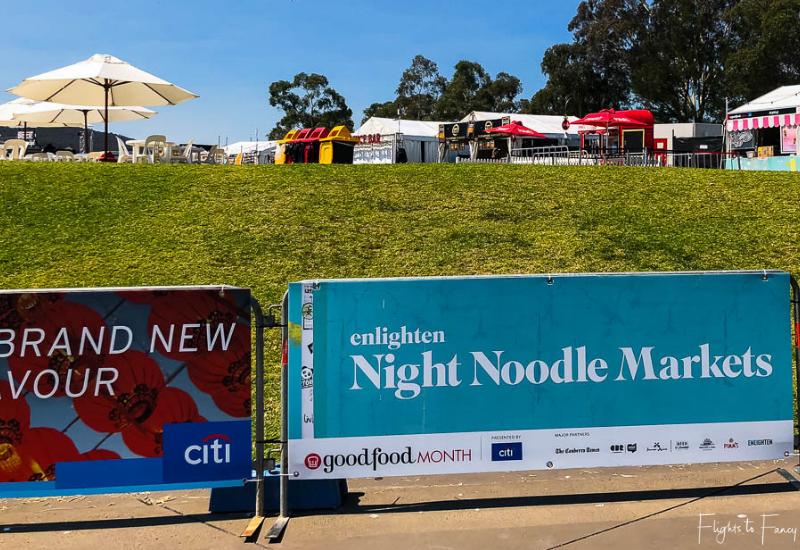 Canberra Enlighten - Night Noodle Markets Lawn