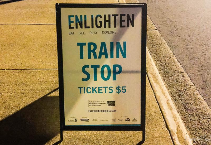 Canberra Enlighten Train