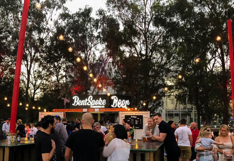 Canberra Night Noodle Markets - Bent Spoke Beer