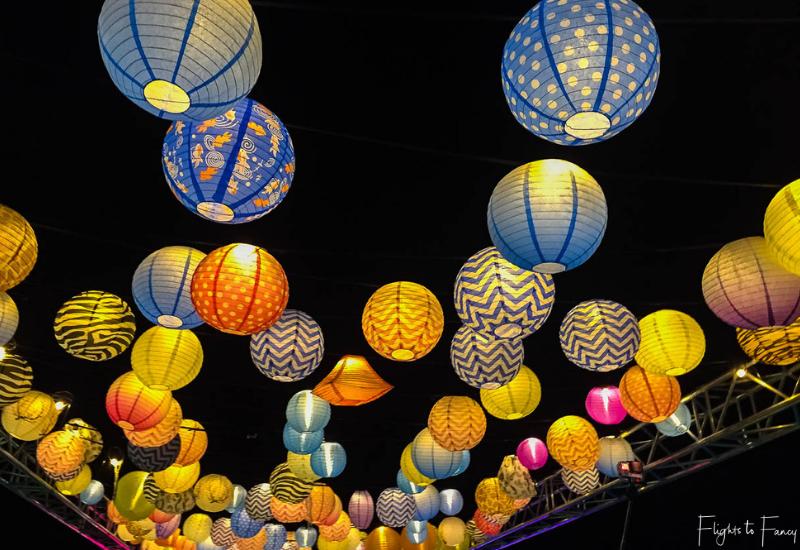 Night Noodle Markets Canberra Enlighten - Lanterns