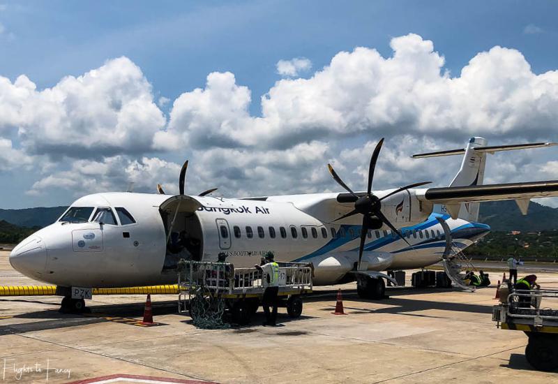 Bangkok Air ATR72-600