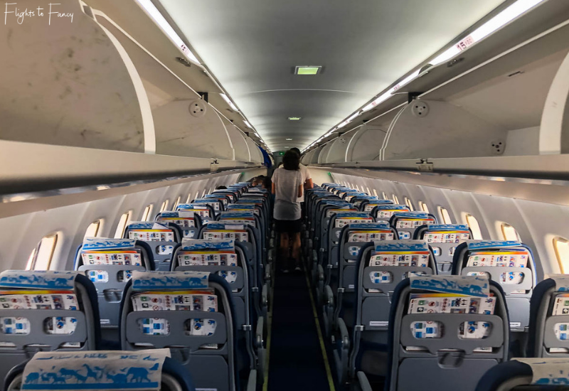 Bangkok Airways ATR72-600 Cabin