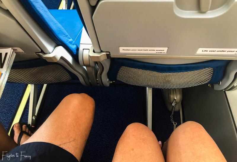Bangkok Airways ATR72-600 Leg Room