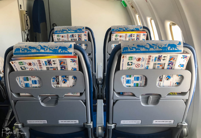 Bangkok Airways ATR72-600 Seating In Cabin