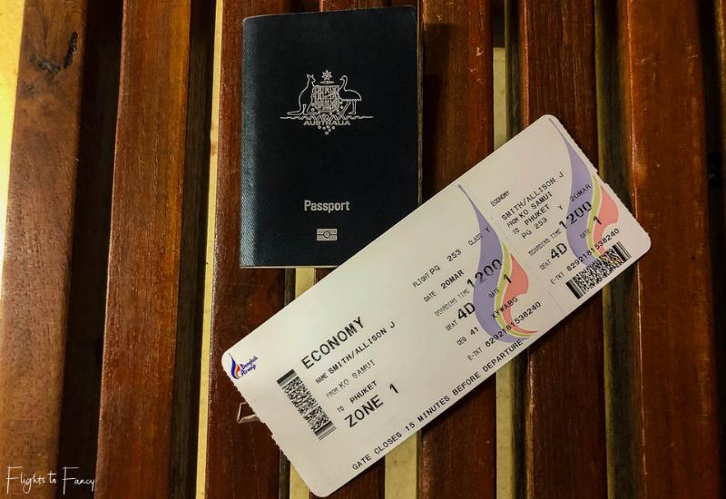 Bangkok Airways Boarding Pass