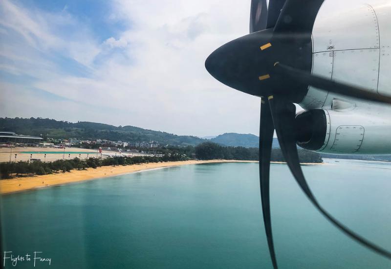 Bangkok Airways Propeller