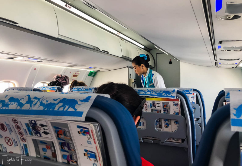 Bangkok Airways Review: Cabin Crew