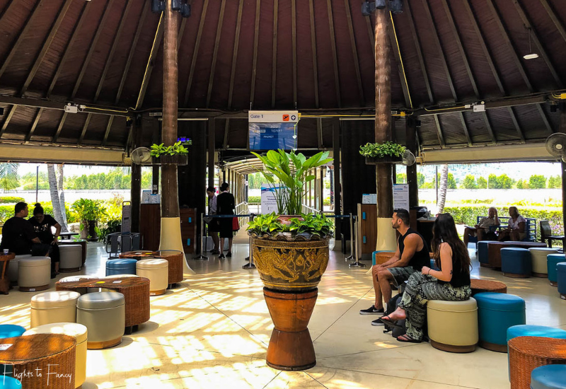 Bangkok Airways Review: Departure Gate 1 Koh Samui Airport