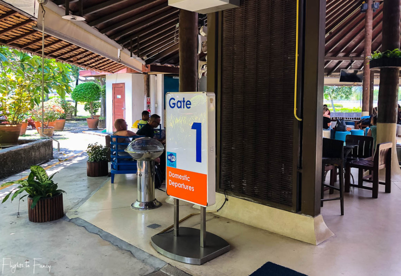 Bangkok Airways Review: Gate 1 Koh Samui Airport