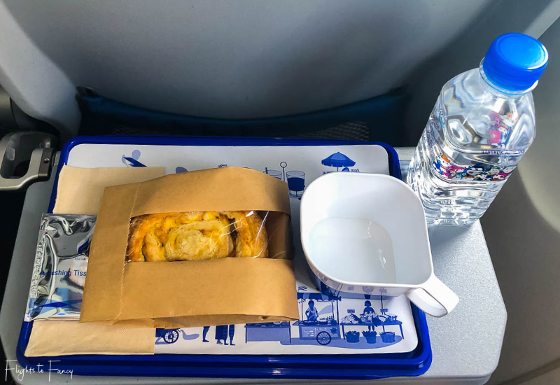 Bangkok Airways Review: Inflight meal