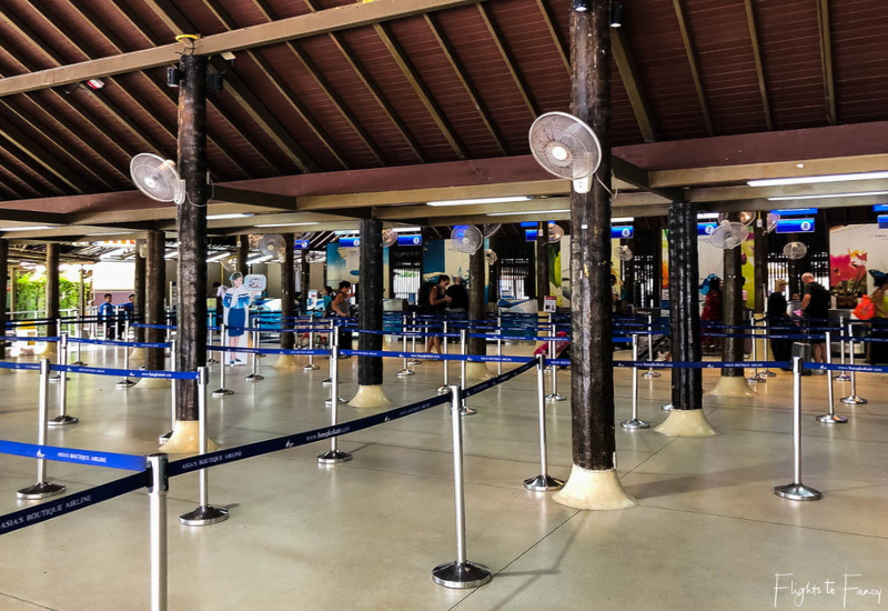 Bangkok Airways Review: Koh Samui Airport Check In