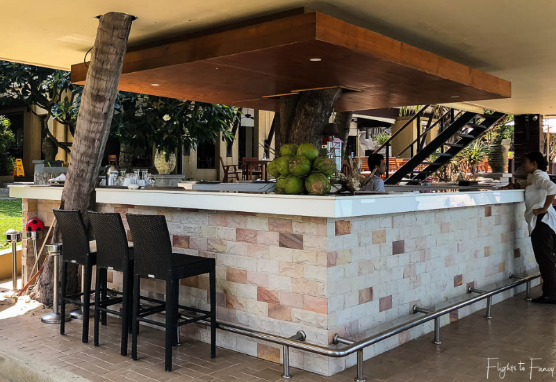 Beach Bar @ Impiana Luxury Hotel in Koh Samui