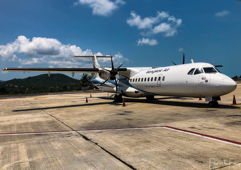 Featured Image: Bangkok Airways Review - Koh Samui to Phuket Flight