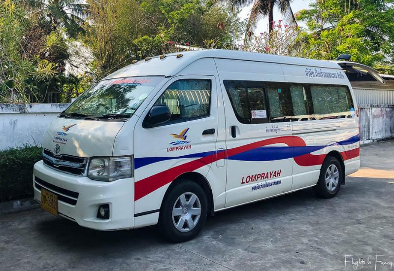Lomprayah Ferry Van