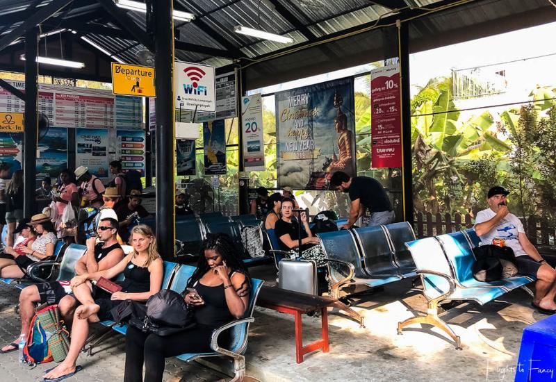 Lomprayah Ferry Waiting Room Krabi