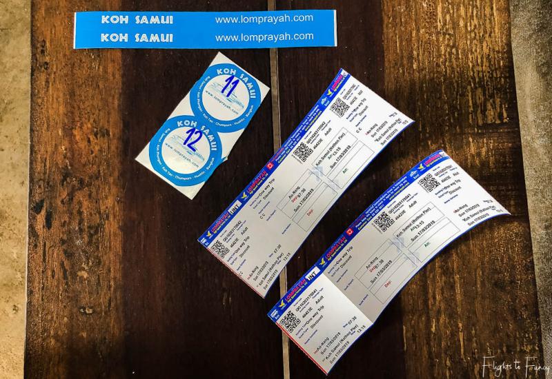 Lomprayah Krabi to Koh Samui Ferry Tickets