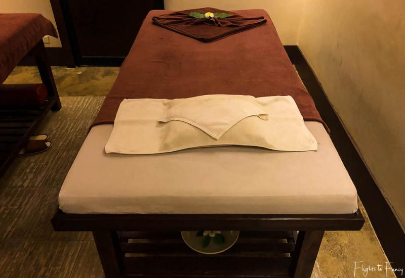 Massage Bed Swasana Spa Impiana Resort Chaweng Noi Koh Samui