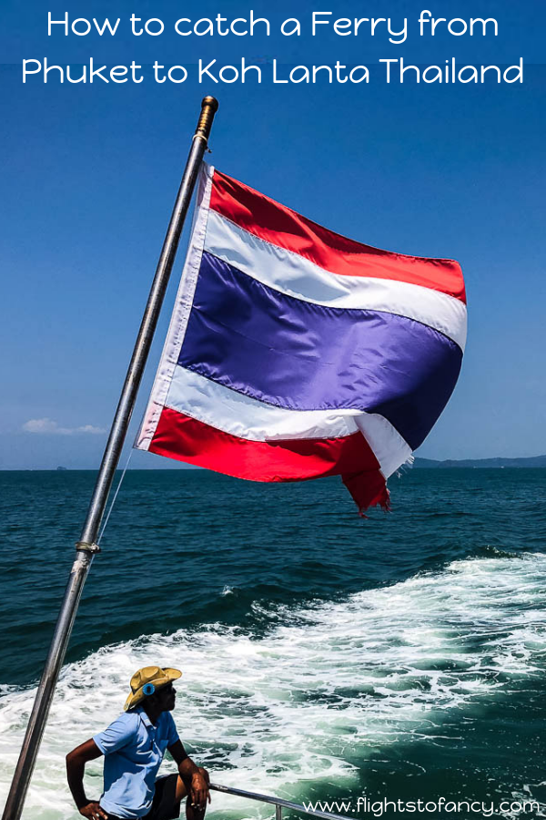 Find out where to book the cheapest ferry from Phuket to Koh Lanta and exactly what it was like onboard the Koh Lanta ferry from Rassada Pier to Saladan Pier here. #phuket #kohlanta #thailand #ferry