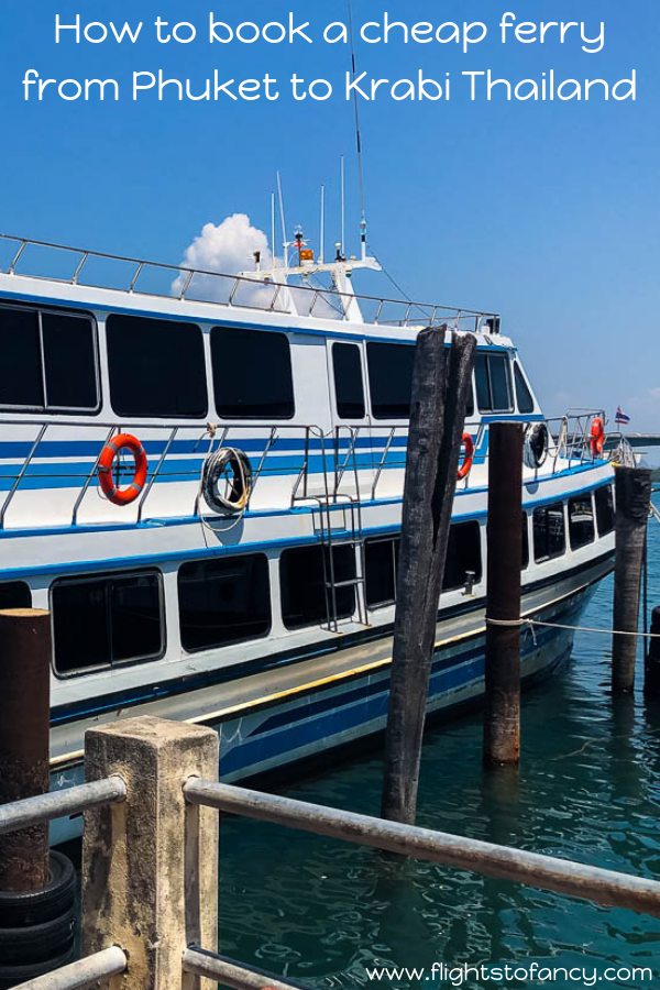 Need to catch a ferry from Phuket to Krabi? All the Phuket to Krabi ferry options are here plus a few alternatives. And at the best price! #thailand #krabi #phuket #ferry