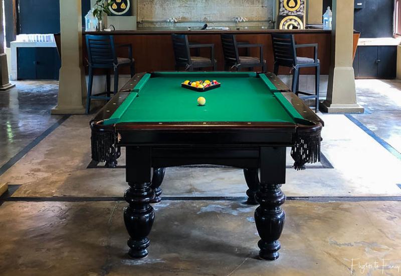 Pool Table Tamarind Bar @ Impiana Luxury Hotel in Koh Samui