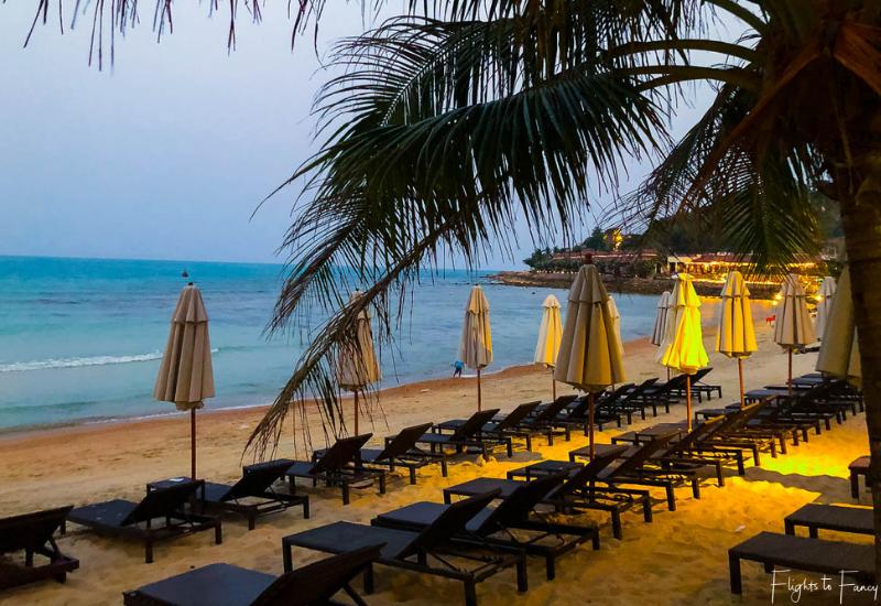 Sunset on the beach @ Impiana Resort Chaweng Noi