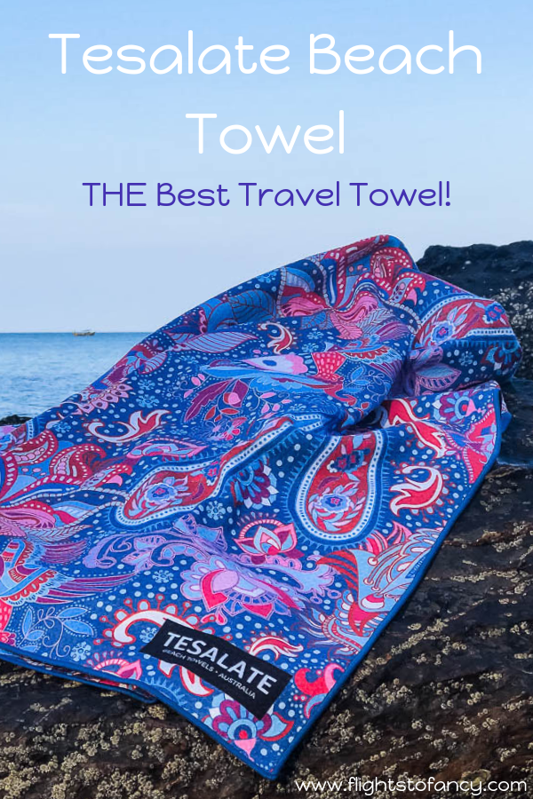Tesalate use cutting edge technology in their ultimate beach towels. My Tesalate beach towel made my recent trio to Koh Lanta so simple. Find out why here. #tesalate #beachtowel #traveltowel #quickdrytowel #compacttowel #lightweighttowel