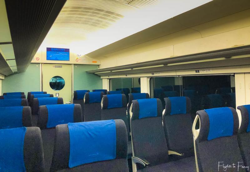 Keisei Skyliner Cabin Ueno To Narita Airport
