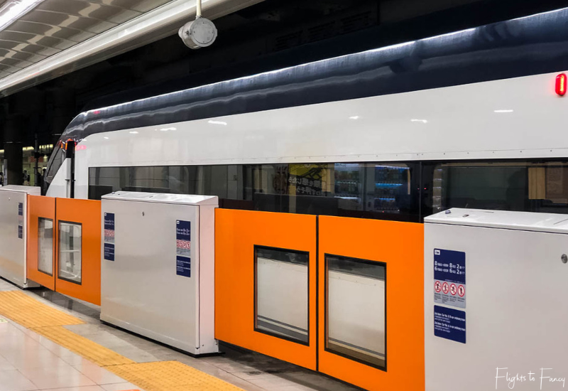 Keisei Skyliner at Narita Airport Station